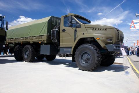 В ВВО сформированы два автомобильных батальона многоосных тяжелых машин