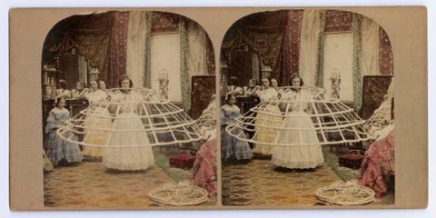 Кринолин — модный экстрим викторианской эпохи