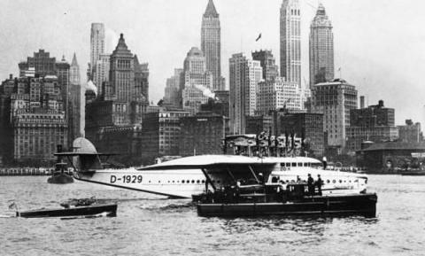 Do X — пассажирская летающая лодка фирмы Dornier