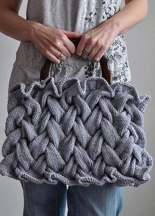 "Узор ""Плетенка"" для сумки. Схема"