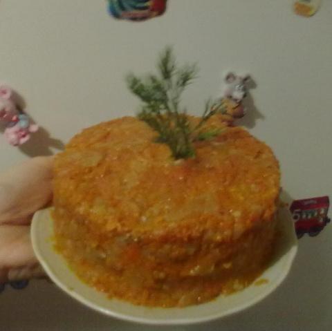"""Печеночный торт """"Райское наслаждение"""""""