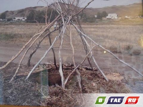 Непонятная дыра в селе Ишкинино