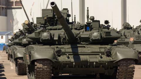 Армия Сирии применила поставленные из России танки Т-90А