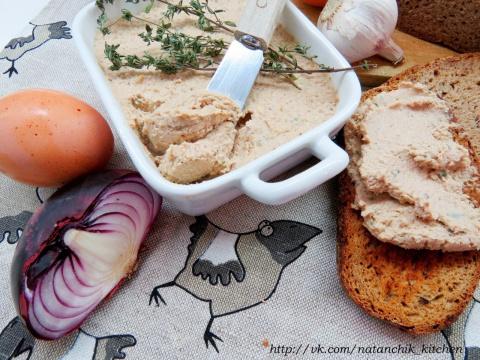 Венгерский яичный паштет