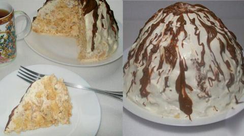 Торт «Панчо… ну очень ленивы…