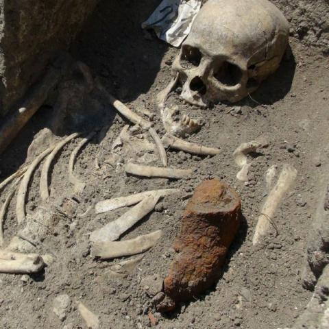 Ученые обнаружили в гробнице…