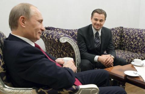 Ди Каприо сыграет роль Путина