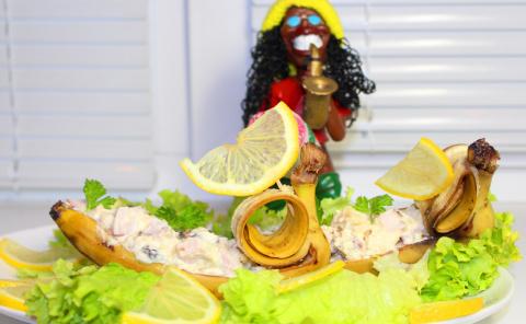 """Праздничный салат """"Африка"""""""