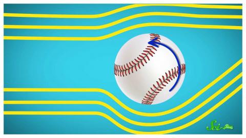 Как крученый мяч меняет направление в воздухе?