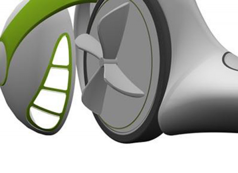 Скутер Амфибия для воды и для суши