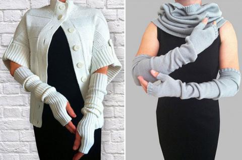 Модный штрих: митенки