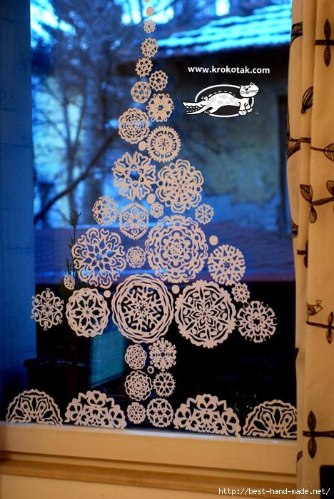 Как сделать красивые снежинки. Идеи применения снежинок в декоре!