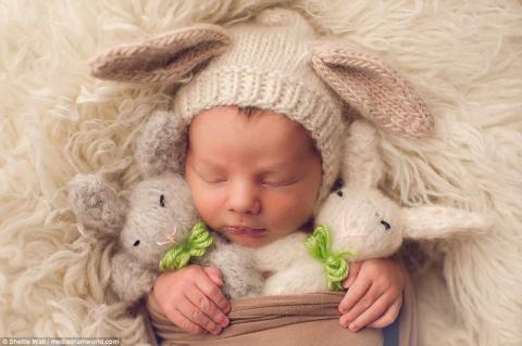 Трогательные пасхальные младенцы