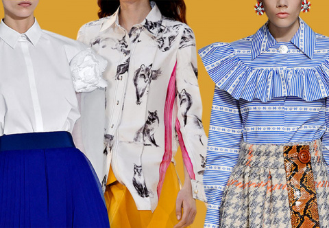 МОДНЫЕ СТРАСТИ. Блузы и рубашки осени 2015