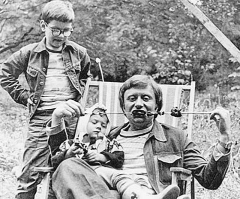 Знаменитости в кругу семьи, фото из домашних архив