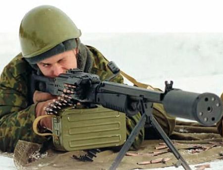 Пулемет АЕК-999: бесшумный «Барсук» для спецназа