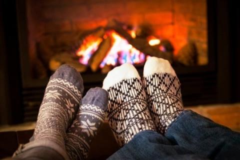 Как согреть ноги зимой: прос…