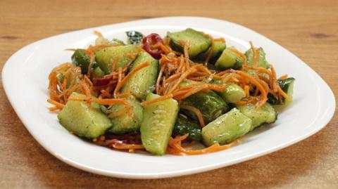Огурцы по-корейски - видео рецепт