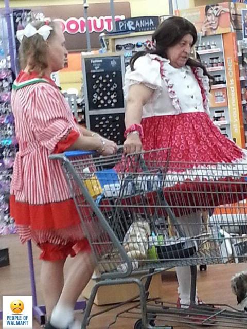 """А в своем ли они уме — супер-пупер """"модные"""" покупатели американских супермаркетов"""