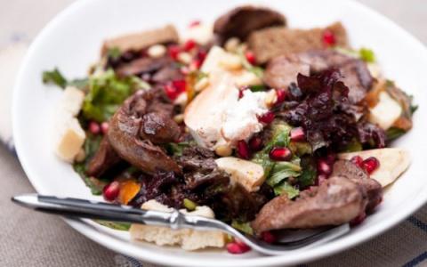 Теплый рубиновый салат