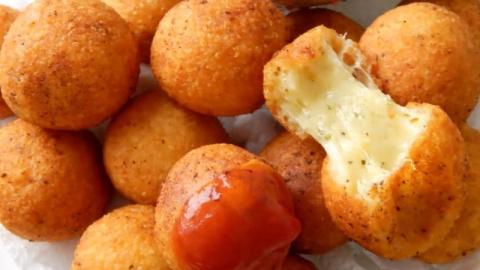 Домашние сырные пончики - побалуйте своих родных!