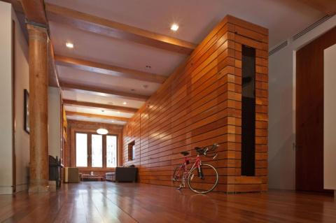 стиле в лофт  ремонт дома