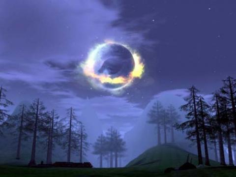 из интернета, луна