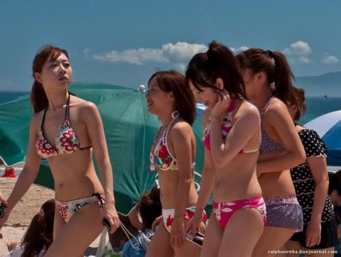 Особенности японского пляжно…