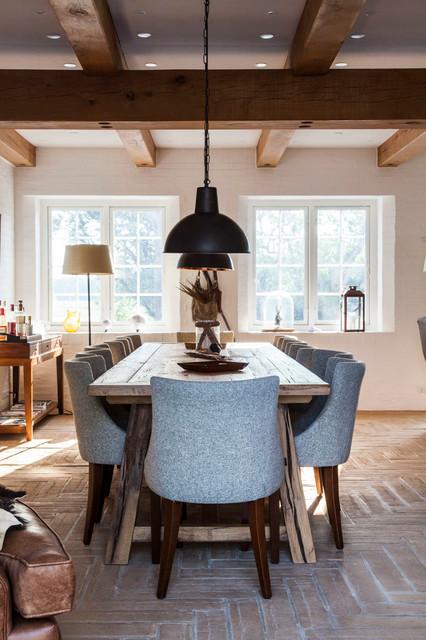 СтройРемПлан / УЮТ. Идеи дизайна столовой в деревенском стиле