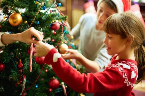 Как украсить дом и нарядить ёлку на Новый Год 2016