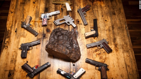 Американцы делают оружие из метеорита