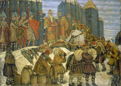 Налоги на Руси и в России