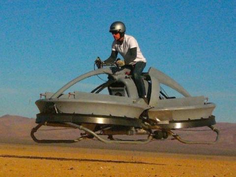 Ховербайк — настоящий парящий мотоцикл!