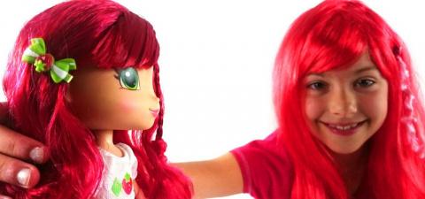 Шарлотта Земляничка видео с игрушками. Новая подружка Поли.