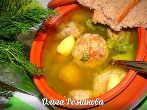 Сытный и вкусный суп в горшо…