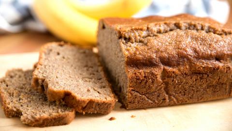 Банановый хлеб с корицей: ре…