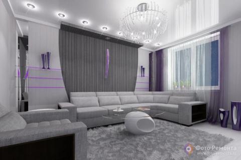 Фото дизайн гостиной в серых тонах фото