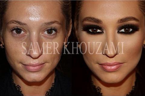 Сногсшибательный макияж и ег…