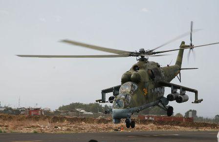 МОРФ: Вертолёт потерпел кру…