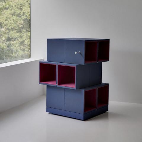 Компактный шкафчик с секретом