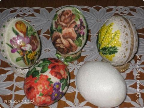 Заготовка пасхального яйца быстро и недорого. Мастер-класс