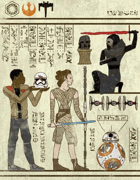 Да прибудет с тобой египетская сила!