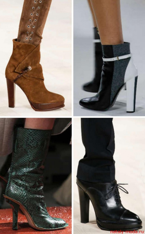 МОДНИЦАМ. Модные ботильоны осень зима 2015-2016