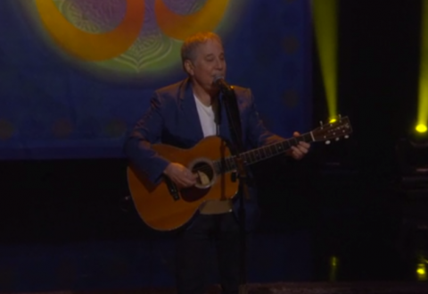 """Paul Simon performs """"Here Comes The Sun"""" for George Harrison Week on Conan — watch"""