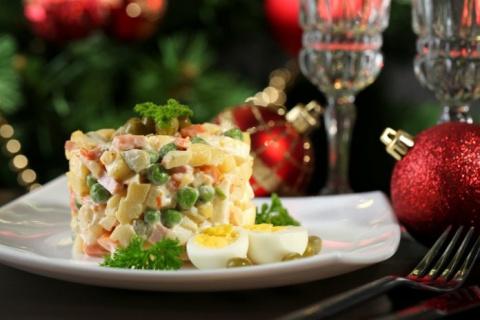 Салат на новогодний стол «Ол…
