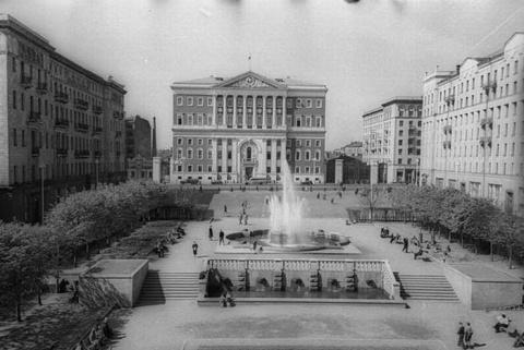 Москва! 60-70-е г.. Моя Моск…