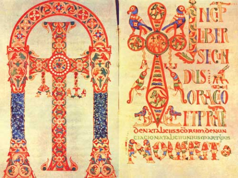Средневековые миниатюры.