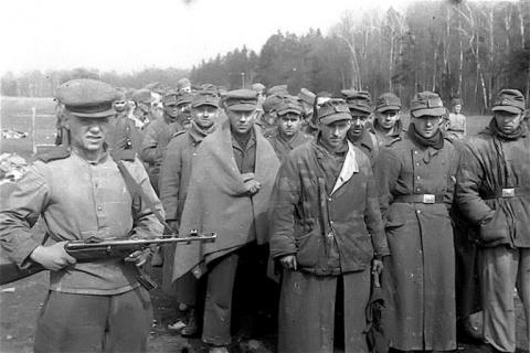 Сколько немецких военнопленн…