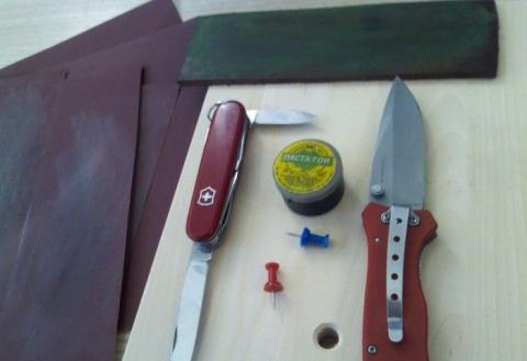 Заточка ножа до состояния бритвы. МК