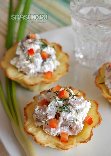 Картофельные тарталетки с ог…
